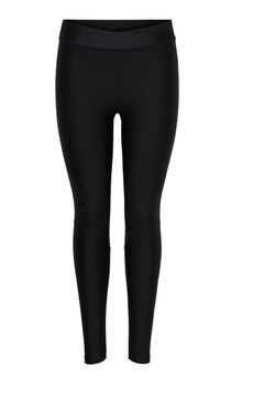 Womensecret Leggings lisos metalizados negro