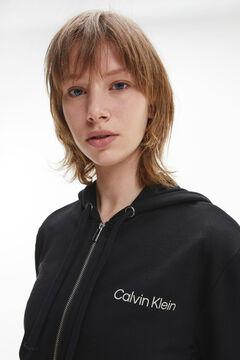 Womensecret Sudadera con capucha Calvin Klein negro