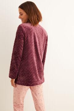 Womensecret Robe print granate rosa