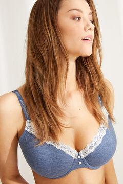 Womensecret BEAUTIFUL Classic padded bra  blue