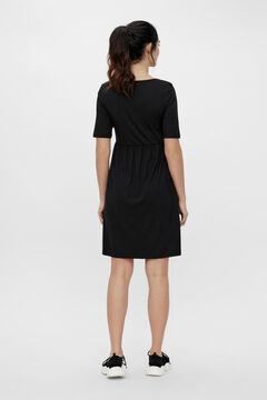 Womensecret Short maternity dress black