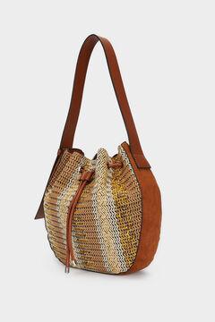 Womensecret Combined shoulder bag brown