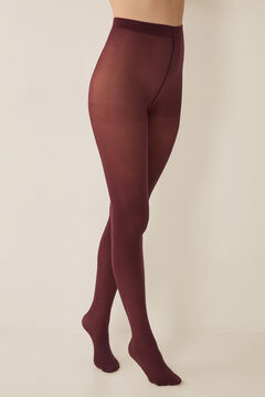 Womensecret Basic tights 50 denier red