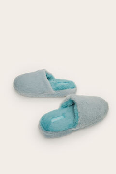 Womensecret Blue slingback slippers green