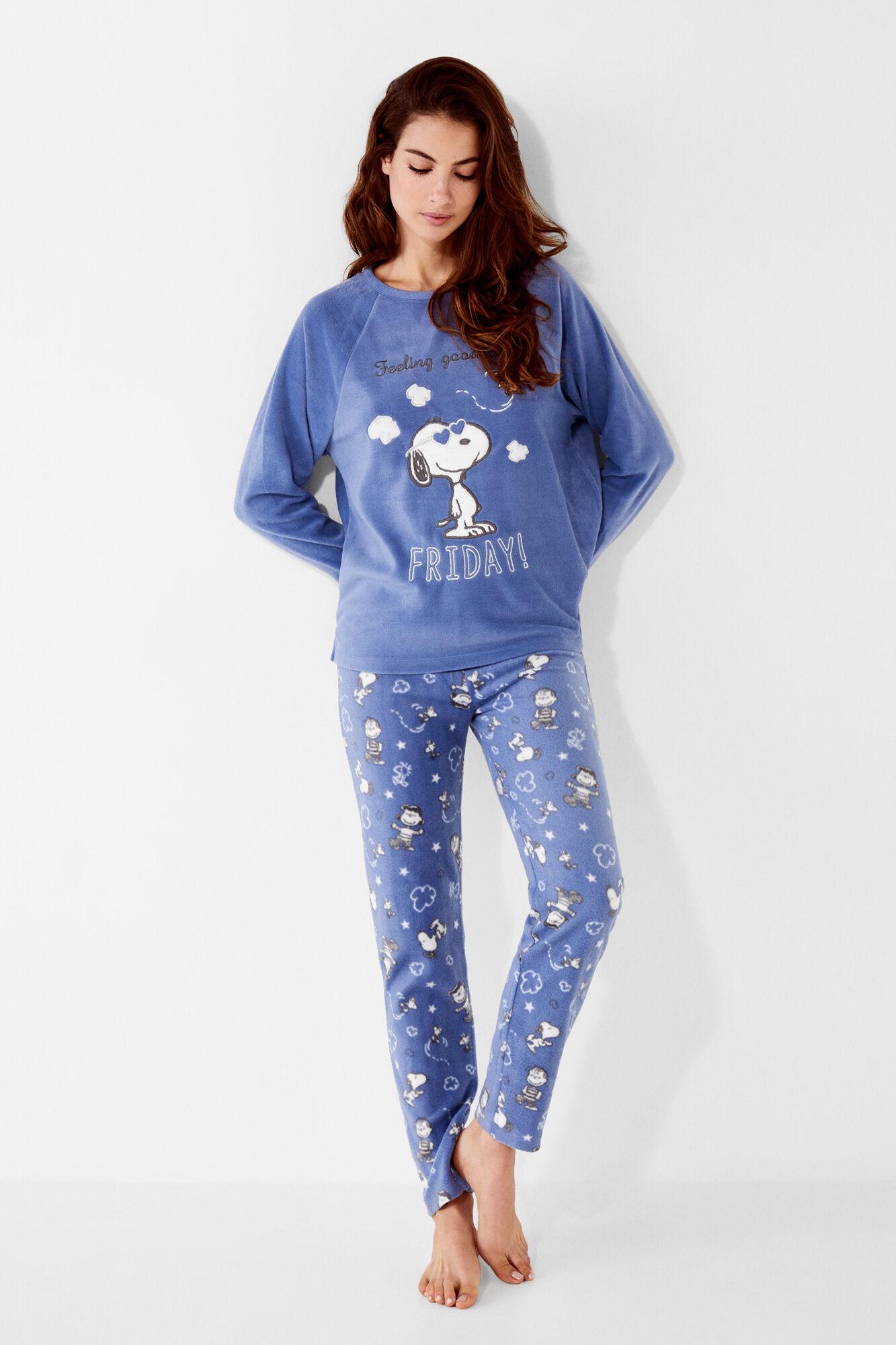 0c873adf678095 Friyay' long Snoopy pyjamas | Long pyjamas | Women'secret
