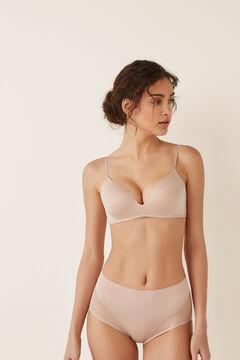 Womensecret Culotte haute Shape, sculptante nude