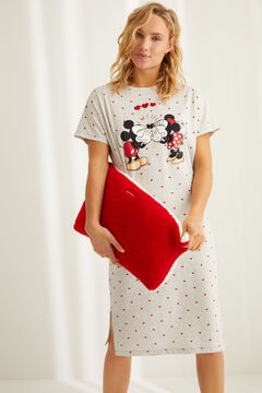 Womensecret Cotton Mickey and Minnie nightgown grey