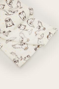 Womensecret Petite couverture hiver chouette Hedwige Harry Potter beige