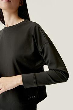 Womensecret Black Daba sweatshirt preto