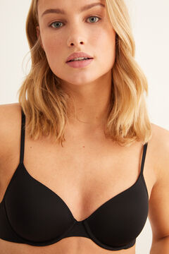 Womensecret Underwired padded bra black