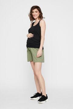 Womensecret Maternity shorts green