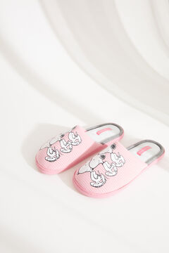 Womensecret Pink Snoopy slingback slippers pink