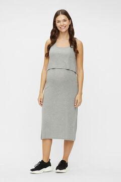 Womensecret Midi maternity dress grey