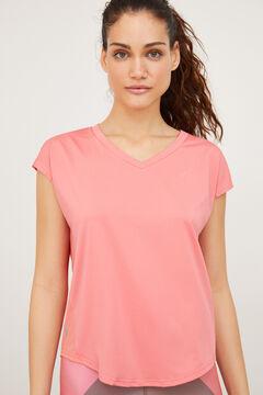 Womensecret Short-sleeved sports top pink