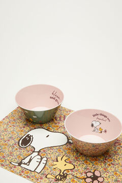 Womensecret 3-pack Snoopy bowls white