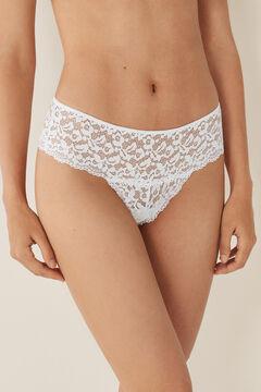 Womensecret Lace boyshort  white