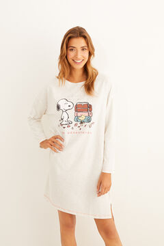 Womensecret Pink Snoopy nightgown  grey