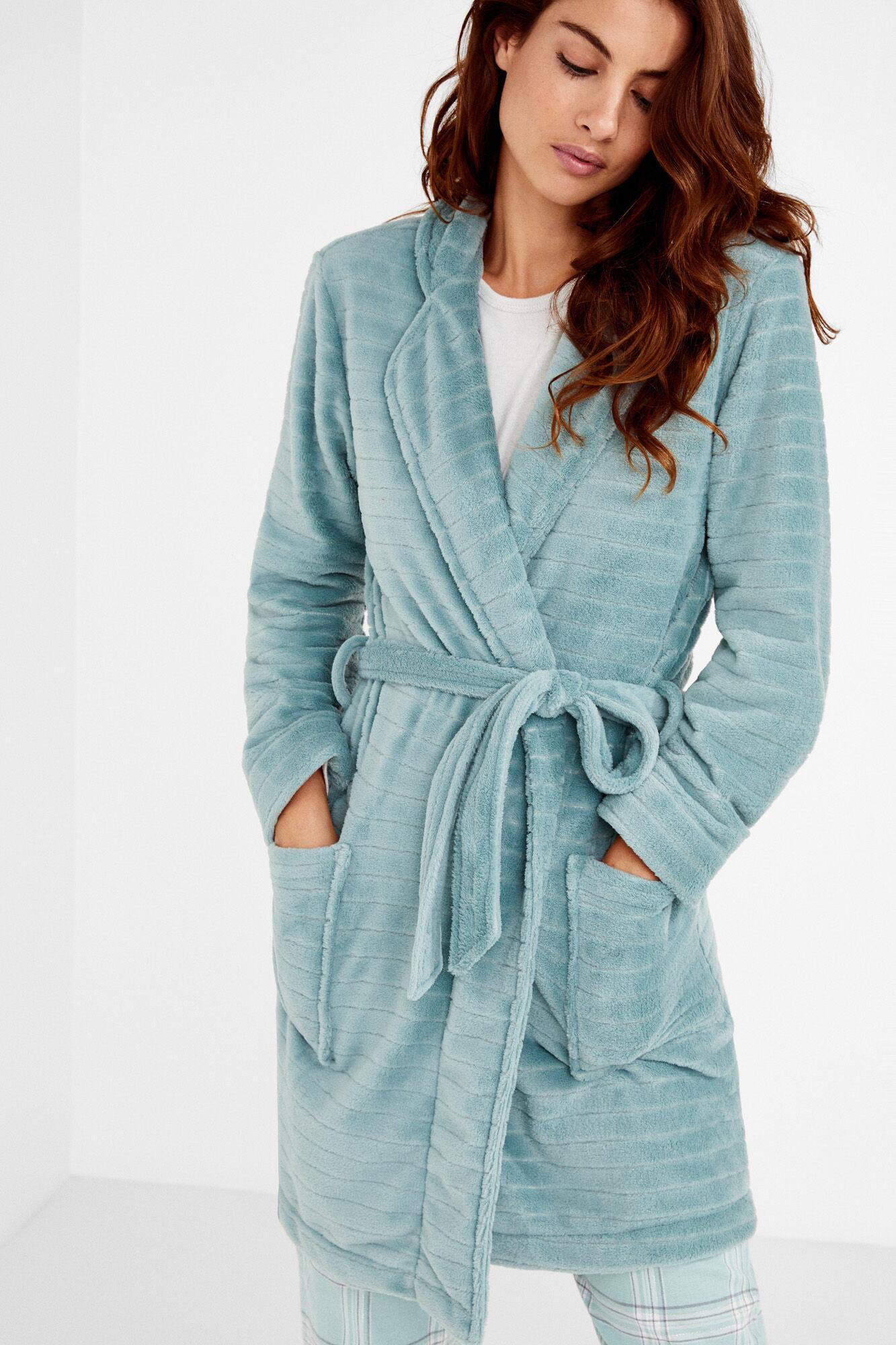 Short fleece dressing gown  424d1e037c