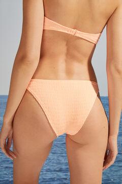 Womensecret Textured classic bikini bottoms pink