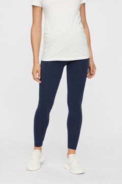Womensecret Recycled nylon maternity leggings bleu