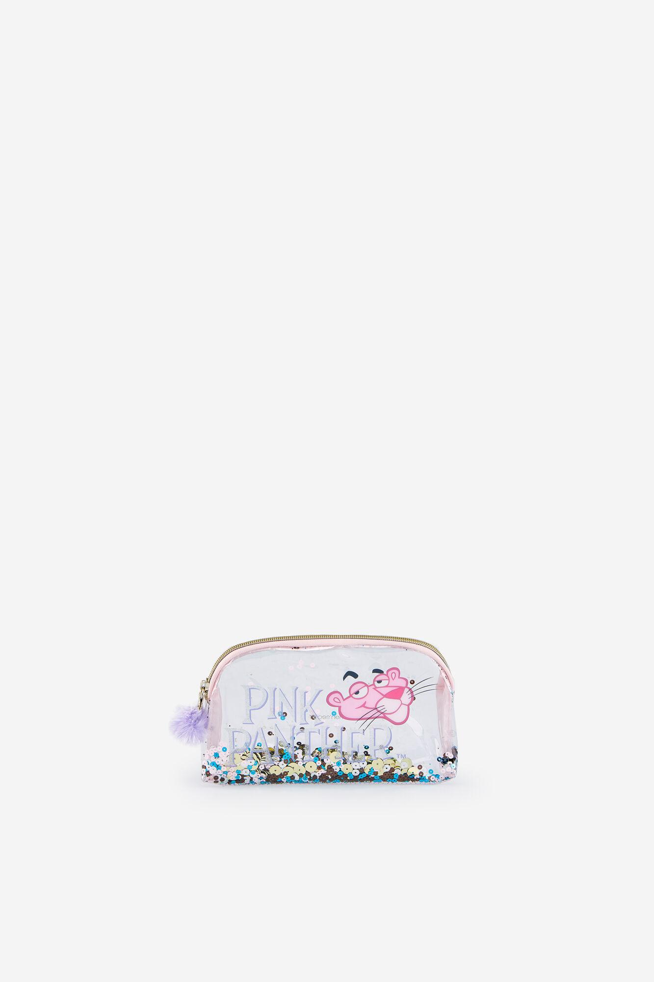 3bb340c0e Neceser mediano glitter Pantera Rosa | Neceseres | Women'secret