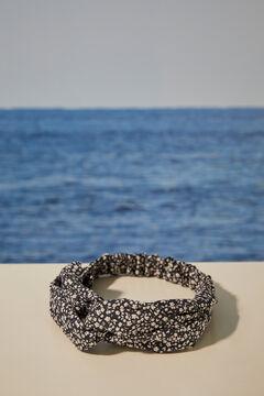 Womensecret  Floral twist front headband black