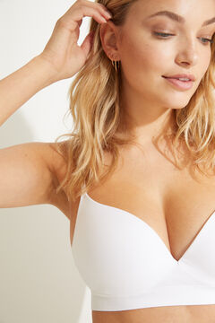 Womensecret GORGEOUS White seamless push-up bra white