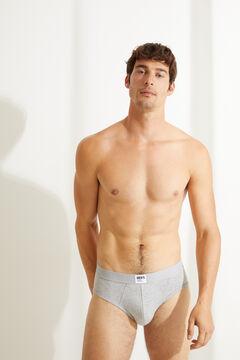 Womensecret Pack 3 calzoncillos slips algodón orgánico básicos estampado
