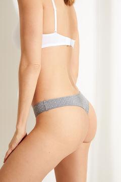 Womensecret 7-pack grey Brazilian panties grey