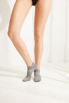 Womensecret Pack de 5 calcetines cortos sport estampado
