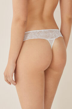Womensecret Lace thong white