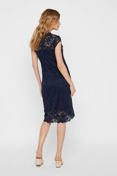 Womensecret Better Cotton lace maternity dress blue