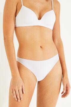 Womensecret 2 microfiber brazilian panties pack white