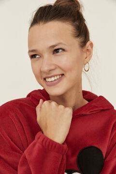 Womensecret Red fleece Mickey pyjamas red