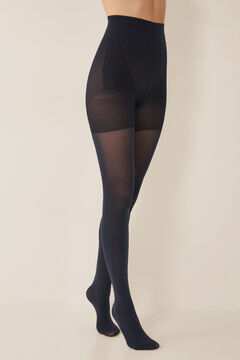 Womensecret Shaping tights 90 DEN blue