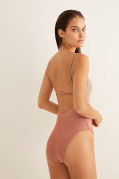 Womensecret Colour-gradient swimsuit pink