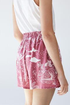 Womensecret Tropical shorts pink