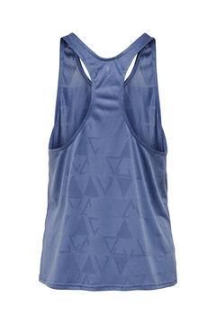 Womensecret T-shirt treino sem mangas azul