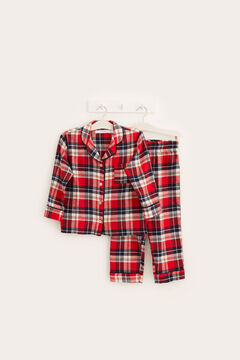 Womensecret Kids' checked winter pyjamas printed