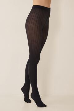 Womensecret Panty textura negro