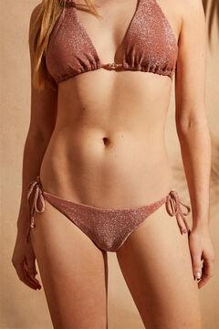 Womensecret Tie knot bikini bottoms pink