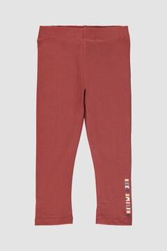 Womensecret Calças leggings menina  vermelho