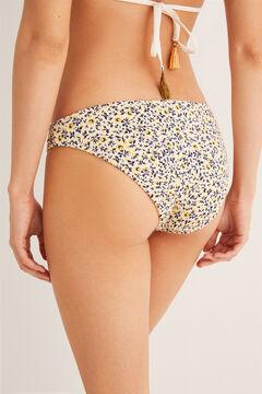 Womensecret Printed bikini bottoms nude