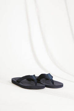Womensecret Men's blue thong sandal blue