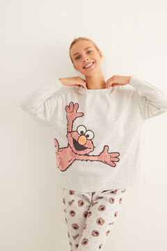 Womensecret Long grey Elmo pyjamas gris