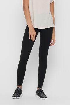 Womensecret Leggings compridas elásticas preto