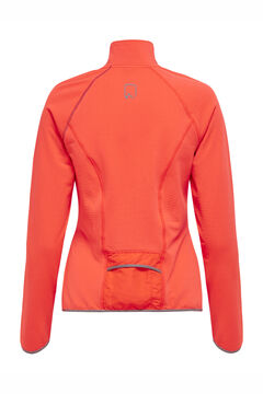 Womensecret Sweatshirt fecho-éclair central vermelho