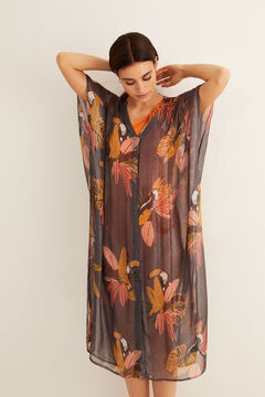 Womensecret Toucan kaftan  grey