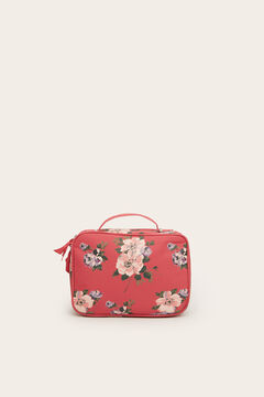 Womensecret Large floral print vanity case pink