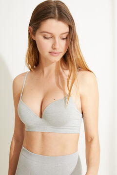 Womensecret GORGEOUS Grey seamless push-up bra grey